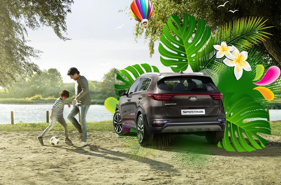 Зустрічай літо автомобільно! Оригінальні аксесуари KIA доступні за спеціальною вигодою 12%!